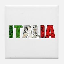 Italia Logo Tile Coaster