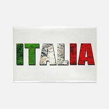 Italia Logo Rectangle Magnet (100 pack)