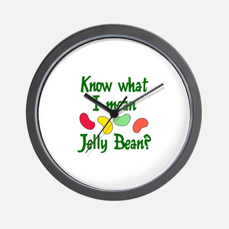 KNOW WHAT I MEAN Wall Clock