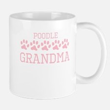 Poodle Grandma Mugs
