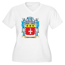 Thatcher Coat of Arms - Family C Plus Size T-Shirt