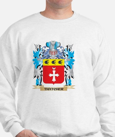 Thatcher Coat of Arms - Family Crest Sweatshirt
