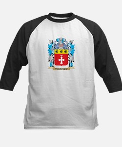 Thatcher Coat of Arms - Family Cre Baseball Jersey