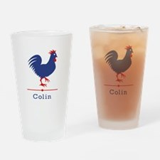 Colin (The Chicken) Drinking Glass