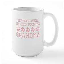 German Wirehaired Pointer Grandma Mugs