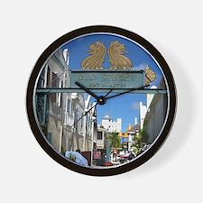Old Street Sint Maarten Wall Clock