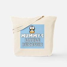 Mummys Little Penguin Tote Bag