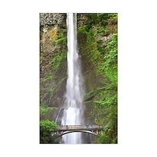 Multnomah Falls Rectangle Decal