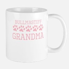 Bullmastiff Grandma Mugs