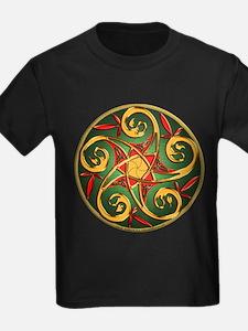 Celtic Pentacle Spiral T