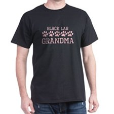 Black Lab Grandma T-Shirt