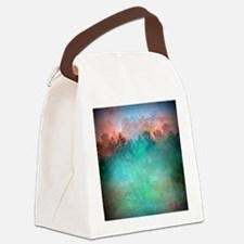 Hazy Morning Canvas Lunch Bag