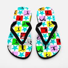 Favorite Gymnast Flip Flops
