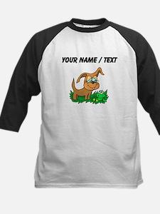 Custom Dog And Frog Baseball Jersey