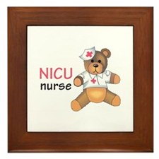 NICU NURSE Framed Tile