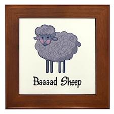 BAD SHEEP Framed Tile
