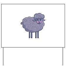 LITTLE SHEEP Yard Sign