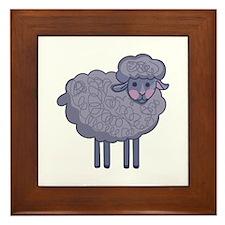 LITTLE SHEEP Framed Tile