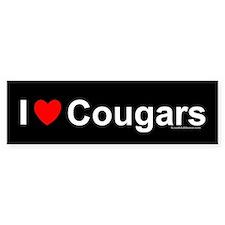 Cougars Bumper Sticker