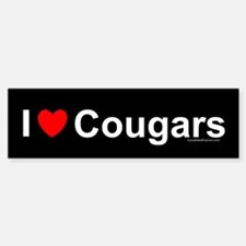 Cougars Sticker (Bumper)