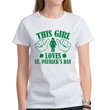 This Girl Loves St. Patrick's Day Tee