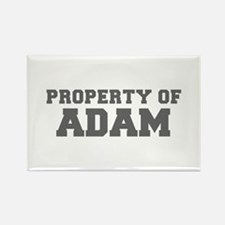 PROPERTY OF ADAM-Fre gray 600 Magnets