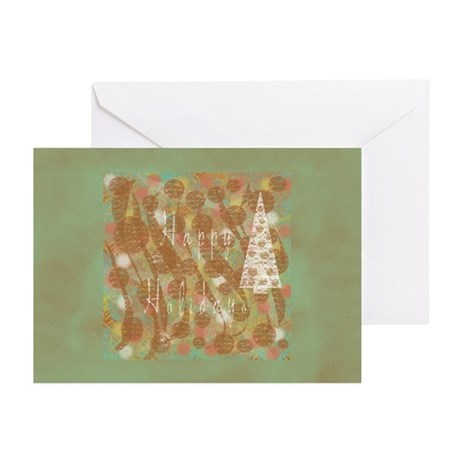 White Tree Holiday Greeting Cards (Pk of 20)