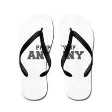 PROPERTY OF ANTHONY-Fre gray 600 Flip Flops
