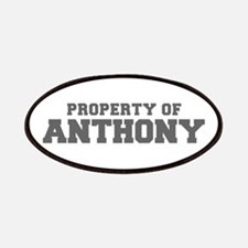 PROPERTY OF ANTHONY-Fre gray 600 Patch
