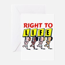 PRO-LIFE BABIES Greeting Cards (Pk of 10)