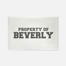 PROPERTY OF BEVERLY-Fre gray 600 Magnets