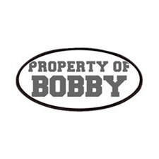 PROPERTY OF BOBBY-Fre gray 600 Patch