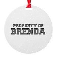 PROPERTY OF BRENDA-Fre gray 600 Ornament