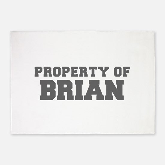 PROPERTY OF BRIAN-Fre gray 600 5'x7'Area Rug