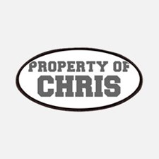 PROPERTY OF CHRIS-Fre gray 600 Patch
