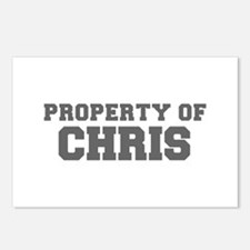 PROPERTY OF CHRIS-Fre gray 600 Postcards (Package