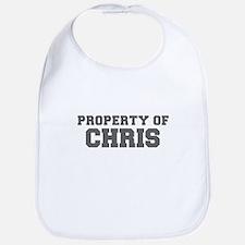 PROPERTY OF CHRIS-Fre gray 600 Bib