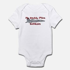 Daddy Flies Eagles Infant Bodysuit