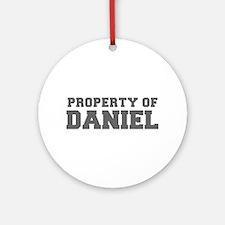 PROPERTY OF DANIEL-Fre gray 600 Ornament (Round)