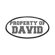 PROPERTY OF DAVID-Fre gray 600 Patch