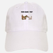 Custom Dog And Cat Baseball Baseball Baseball Cap
