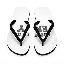 PROPERTY OF EMILY-Fre gray 600 Flip Flops