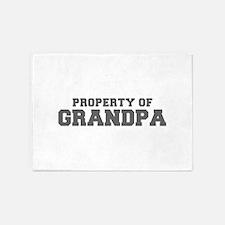 PROPERTY OF Grandpa-Fre gray 600 5'x7'Area Rug