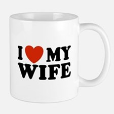I Love My Wife Small Small Mug