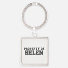 PROPERTY OF HELEN-Fre gray 600 Keychains
