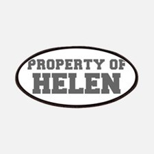 PROPERTY OF HELEN-Fre gray 600 Patch