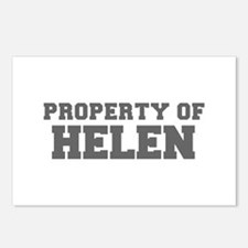 PROPERTY OF HELEN-Fre gray 600 Postcards (Package