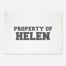 PROPERTY OF HELEN-Fre gray 600 5'x7'Area Rug