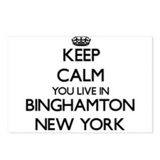 Keep calm you live in Bin Postcards (Package of 8)