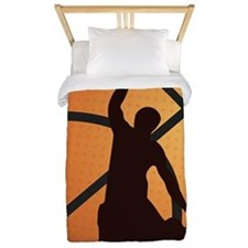 Basketball dunk Twin Duvet
